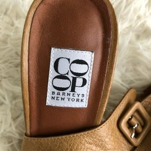 9e625f0a4c1 Barneys New York CO-OP Shoes - Barney s Co Op Soft leather Ankle Wrap Heel